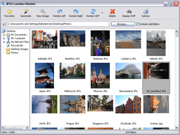 Windows image rotator free software